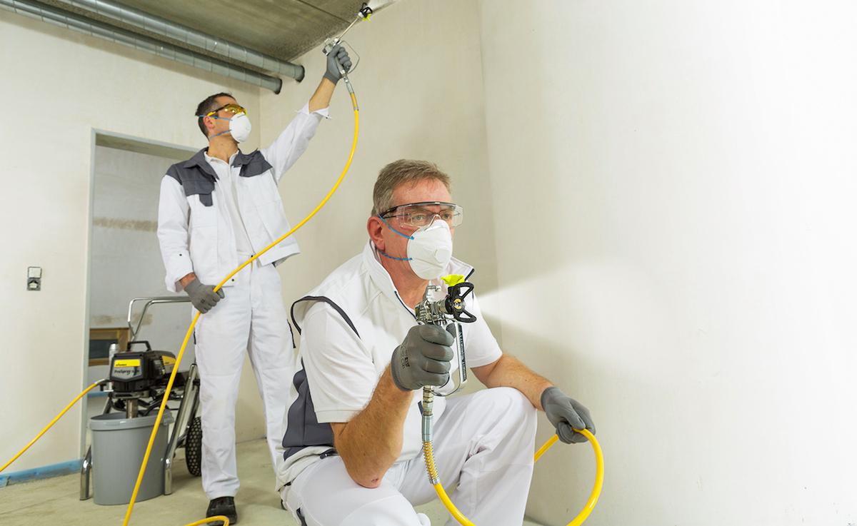 добавление дезсредства полисепт во время ремонтных работ